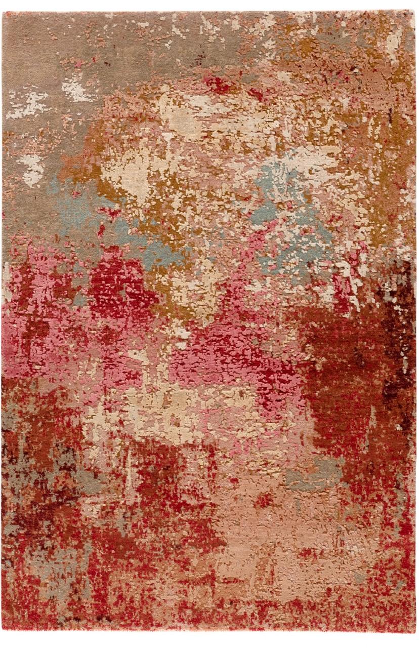 Design-Teppich Pink Valley