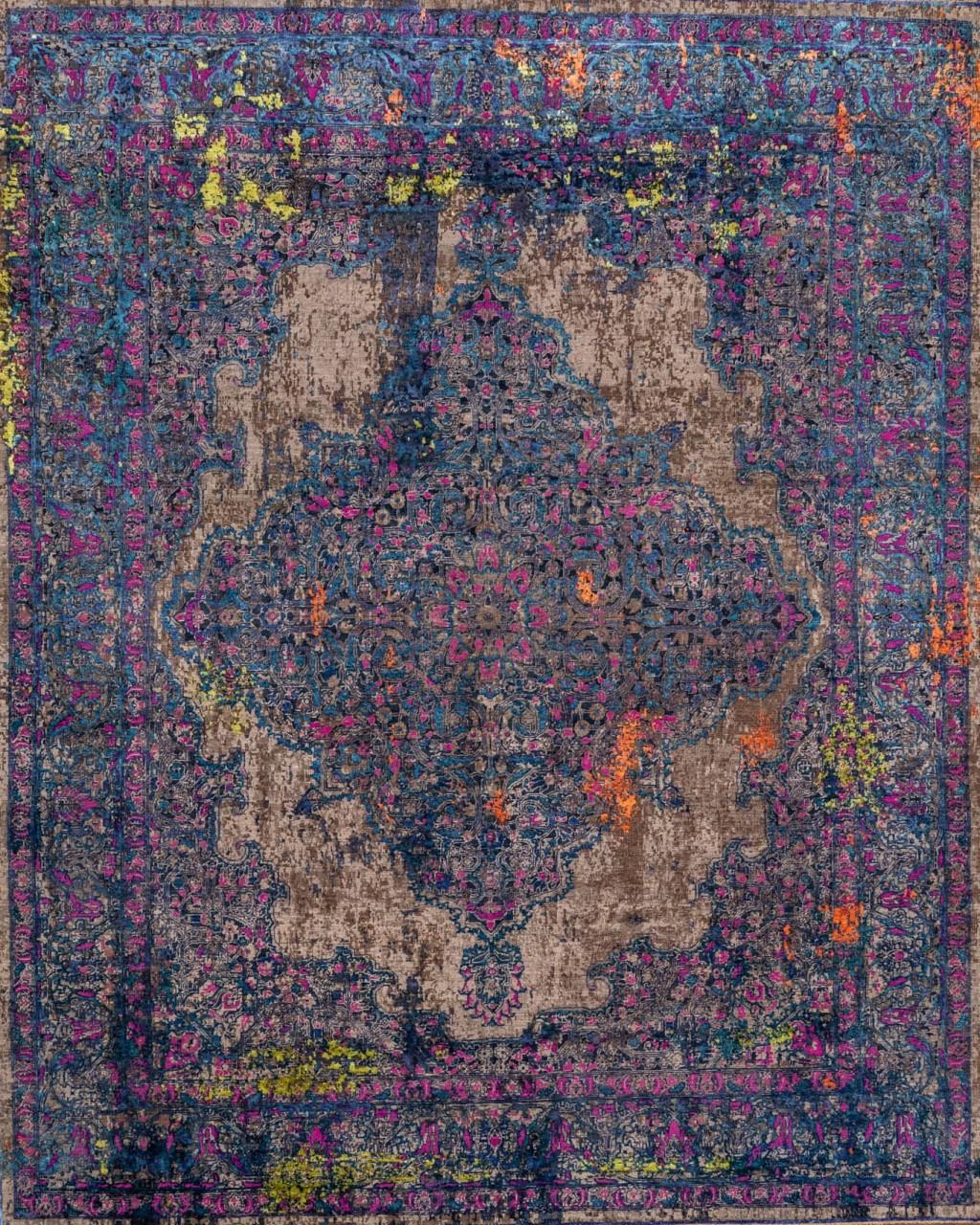 Designer Teppich Jan Kath Tabriz Violet