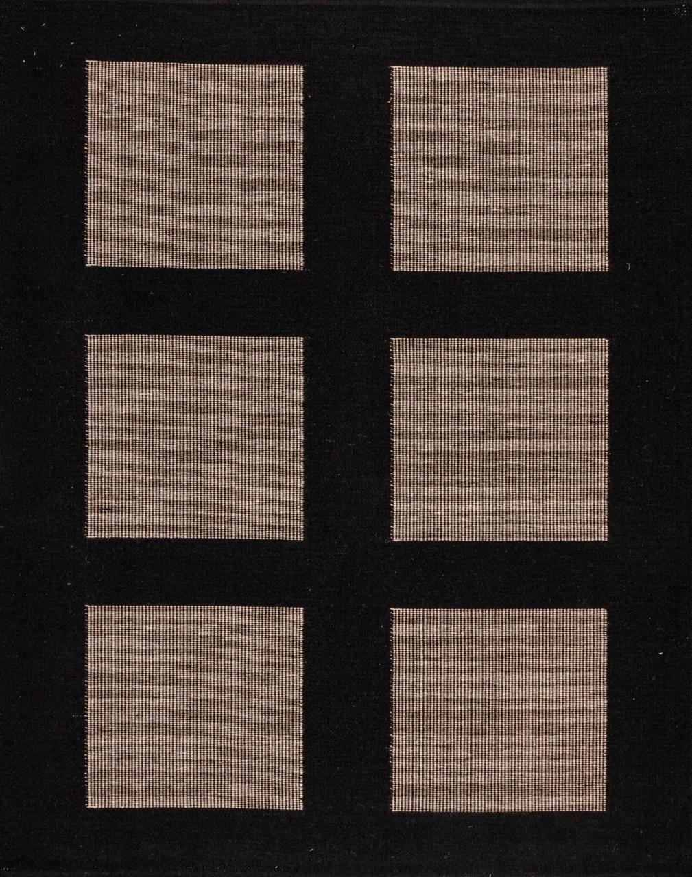 Handwebteppich Blackdoor