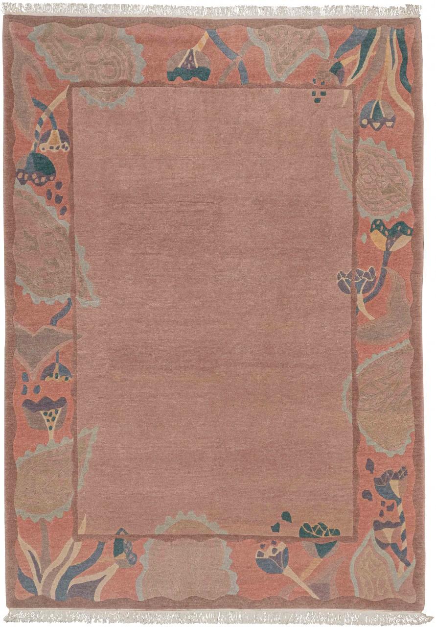 Nepal-Teppich Rose
