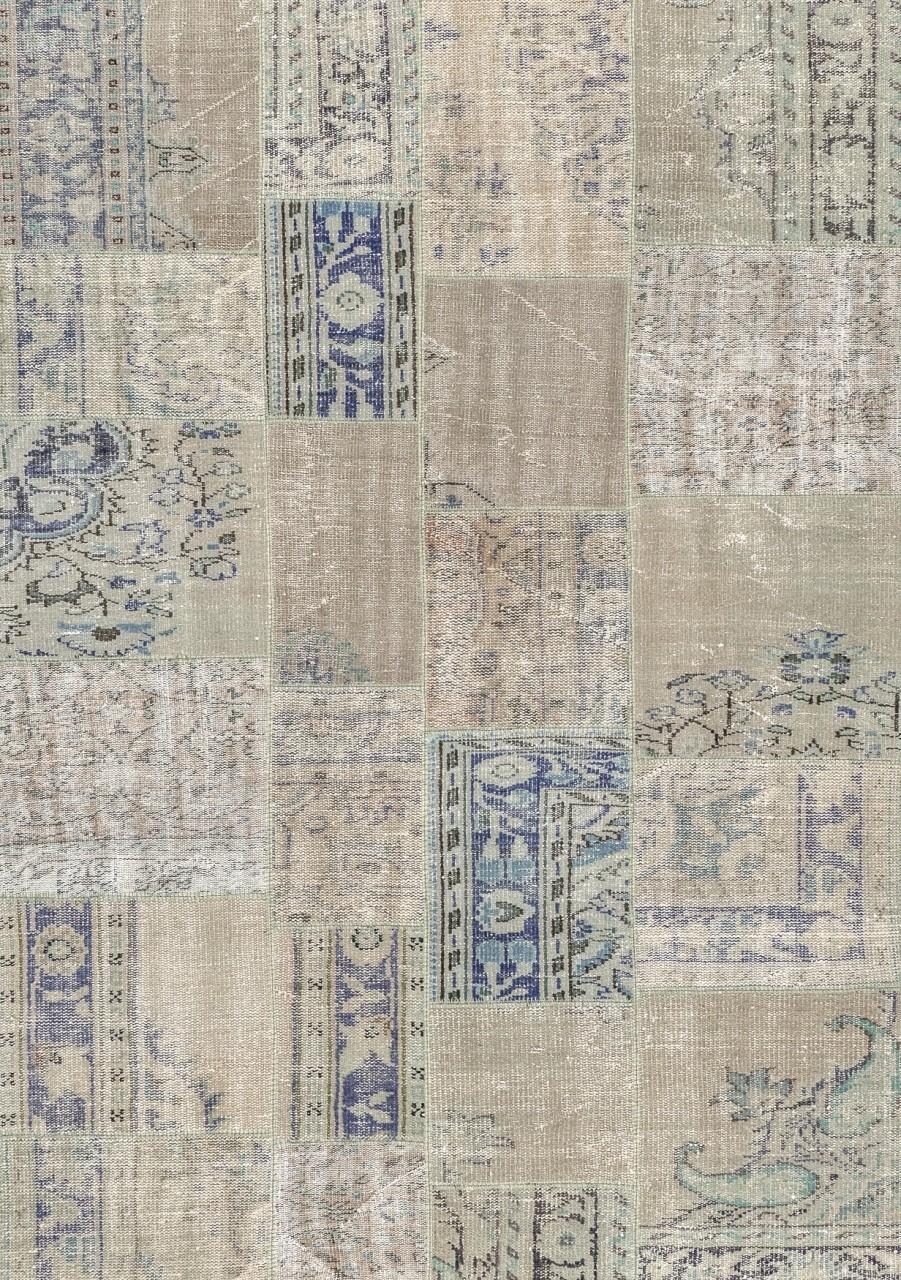 Vintage-Teppich Patchwork Antique