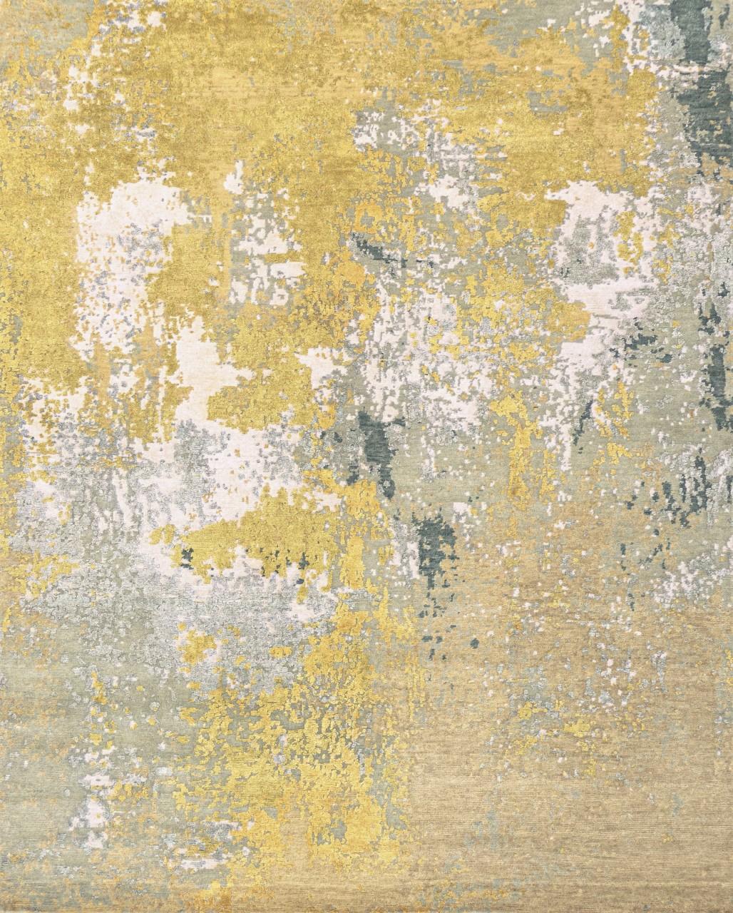 Design-Teppich Golden