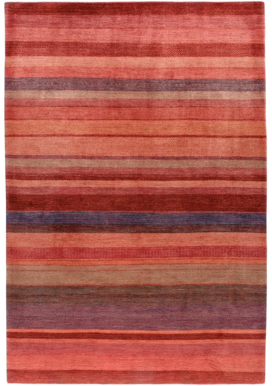 Iran Gabbeh Teppich-Unikat Multi Streifen