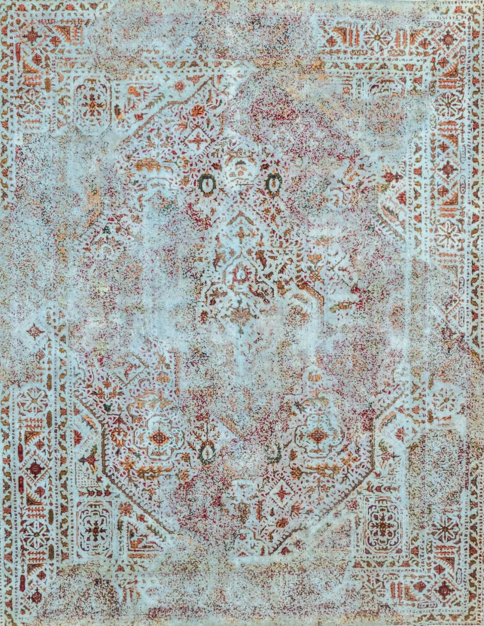 Vintage-Teppich Templelake