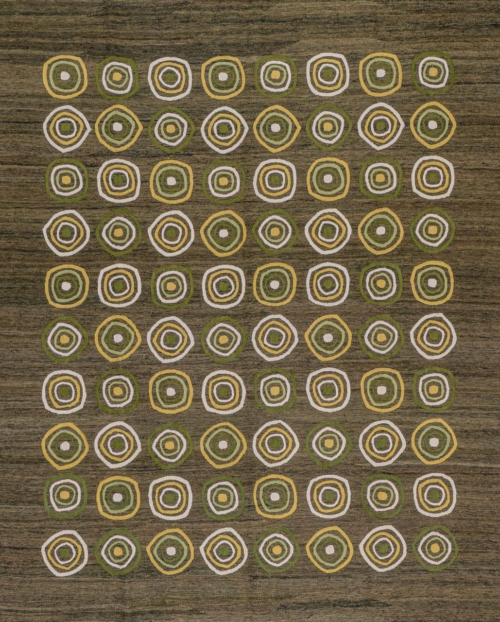 Kelim-Teppich Circles