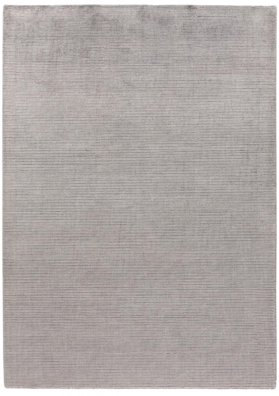 Design-Teppich Uni Grey