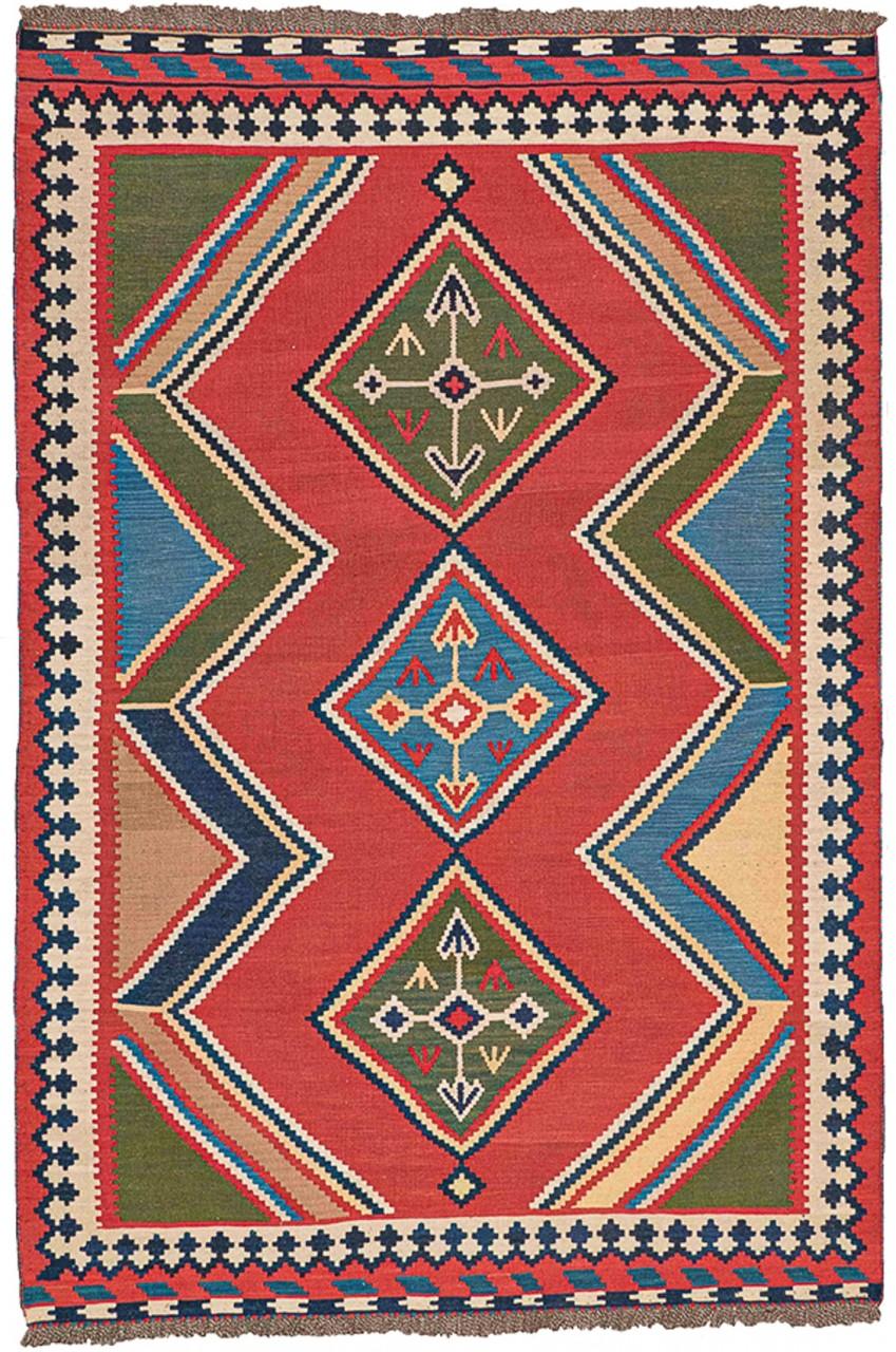 Kelim-Teppich Arrows