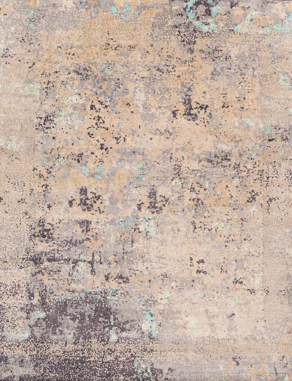 Design-Teppich Eiskristall