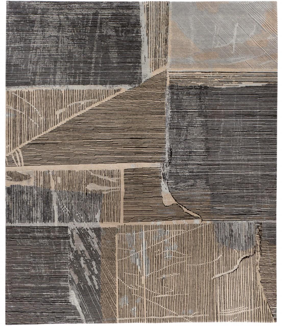 Designer Teppich Wool and Silk Reggae