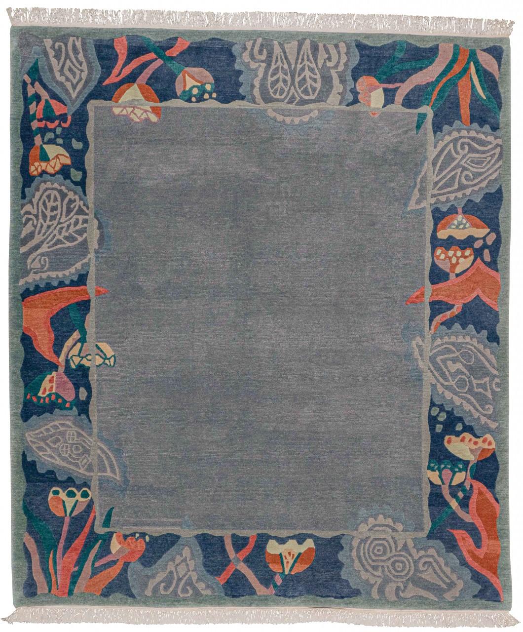 Nepal Teppich Ash
