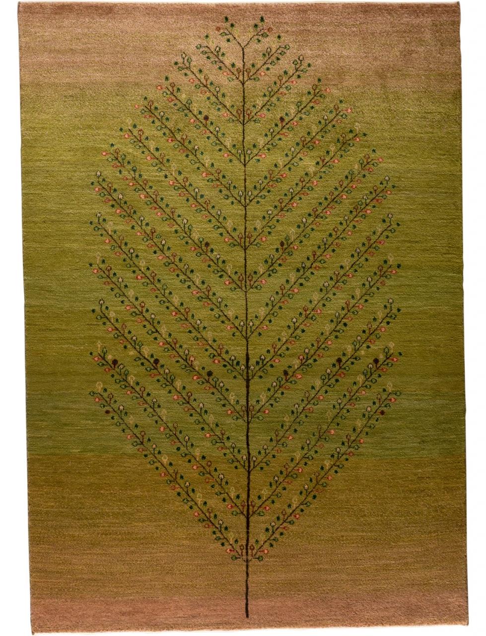 Iran Gabbeh Teppich-Unikat Baum des Lebens