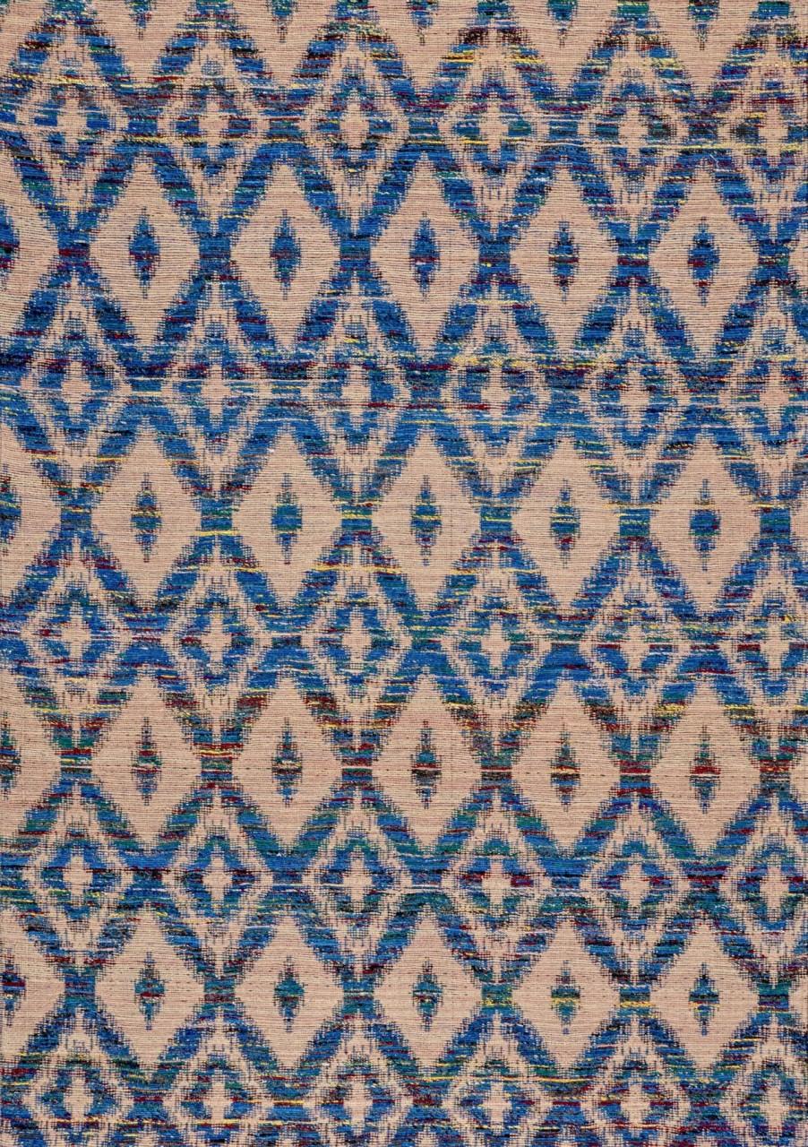 Kelim-Teppich Sariroutes Blue