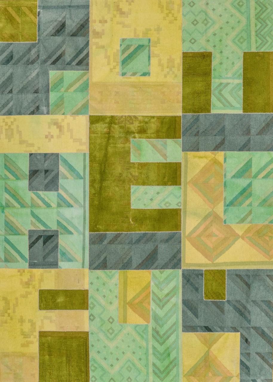 Patchworkteppich Alphabet